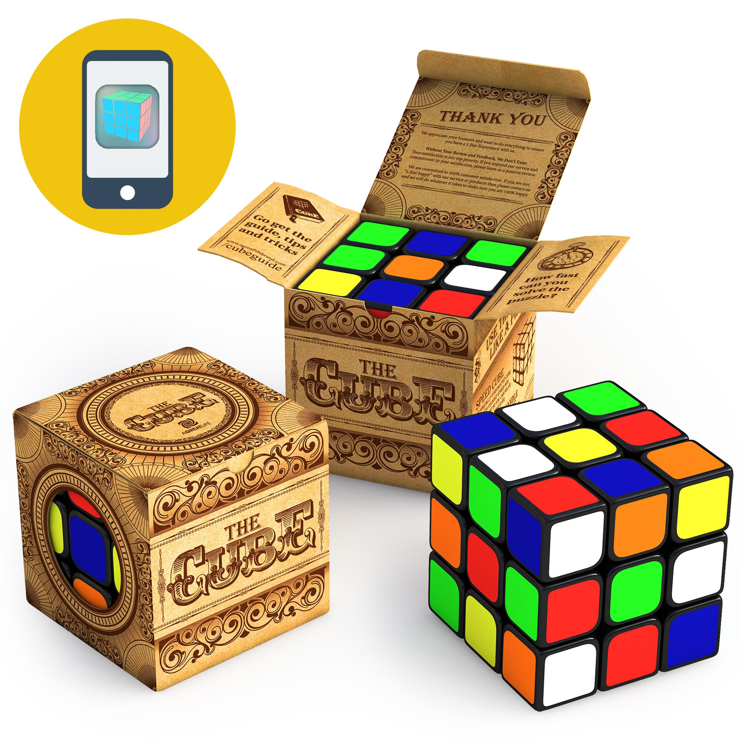 aGreatLife  Speed Cube 3x3x3 rubiks - aGreatlife Brand available in amazon, Shop aGreatlife Toys, Best seller